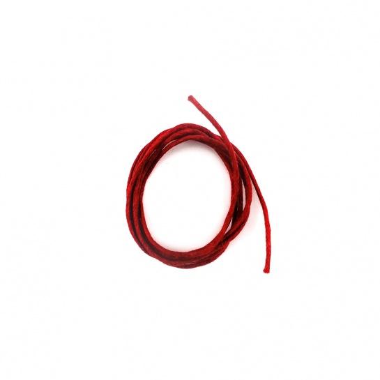 Șnur Bumbac Cerat - Roșu