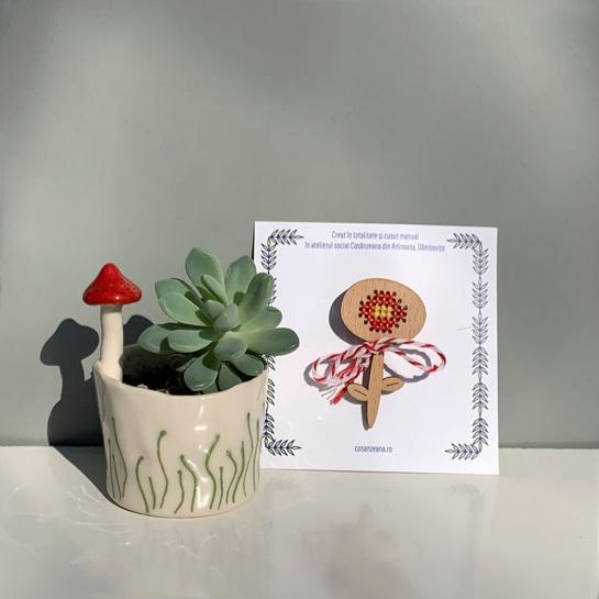 Mărțișor Floare Carmen