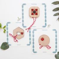 Ofertă 3 Mărțișoare Geometric