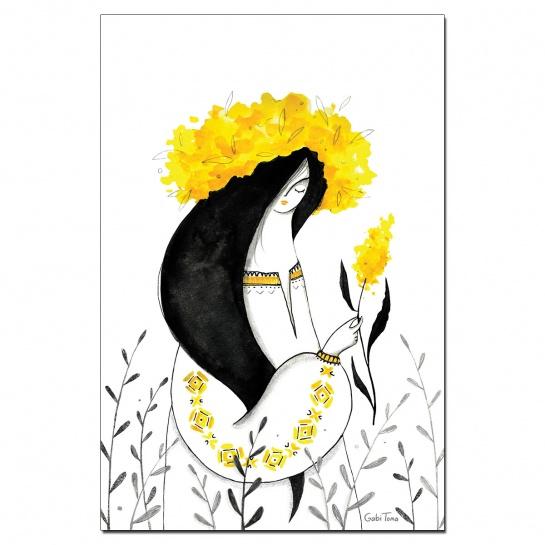 Art Print Cosânzeana