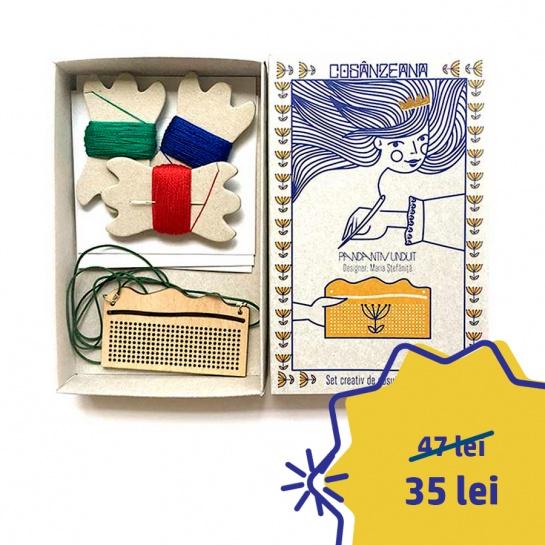 Set Creativ Pandantiv Unduit – design Maria Ștefăniță (Dear Sender)